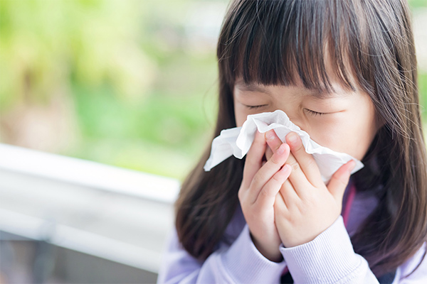【画像】アレルギー性鼻炎